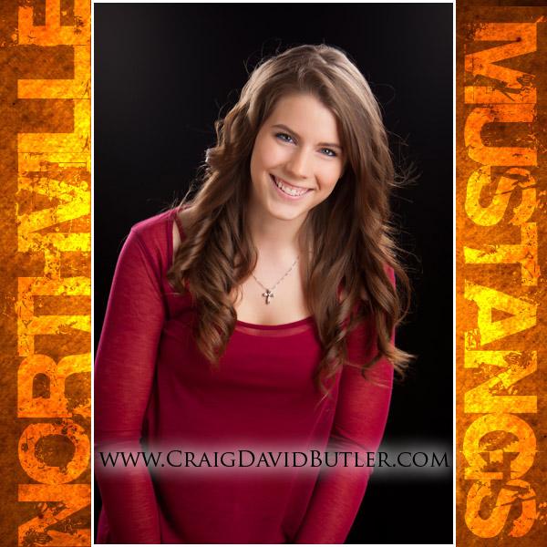 Northville Senior Pictures, Graduation Portrait, High School Senior Michigan, Craig David Butler Studios, Carly01