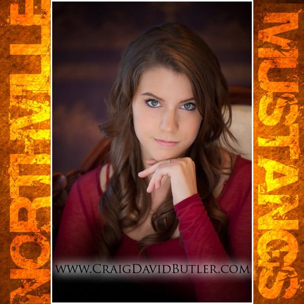 Northville Senior Pictures, Graduation Portrait, High School Senior Michigan, Craig David Butler Studios, Carly02