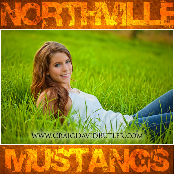 Northville Senior Pictures, Graduation Portrait, High School Senior Michigan, Craig David Butler Studios, Carly07